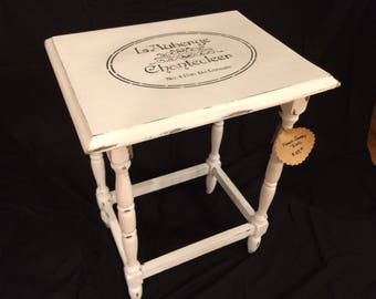 French Country Shabby Chic table