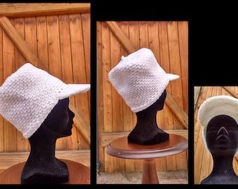 White Cap Hat