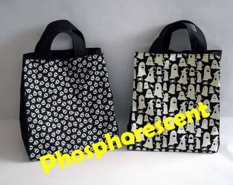 set of 2 bags Halloween Candy phosphorescent