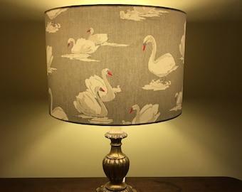 Swan Lampshade