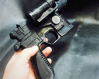 Han Solo dl 44 blaster replica 3dprinted for cosplay