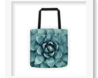 Free Shipping : Succulent Tote Bag