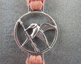 Hunger Games bracelet light brown