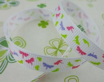 White Ribbon colored dragonflies (x 1 meter)
