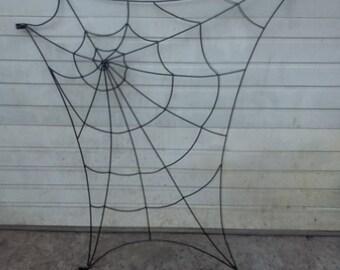 Custom Metal Spider Webs, Large