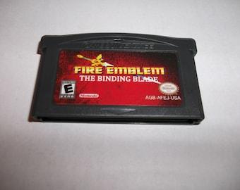 Fire Emblem Binding Blade Game Boy Advance GBA! English Sword of Seals