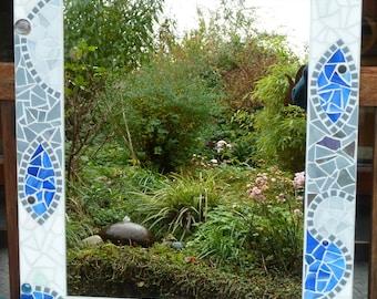 "Mosaic Mirror ""Dance of Seahorses"""