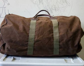 Vintage Duffle bag L.L.Bean made in usa