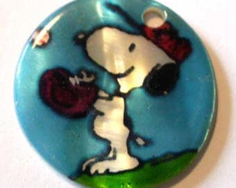 Coin Pearl 1 Snoopy 20 PNP57-16 mm hole