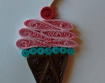 Cupcake Paper Quilling