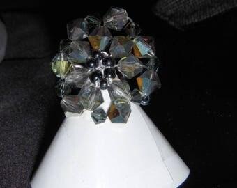 Bague2 swarovski crystal