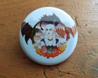 Daenerys Game of Thrones 32 mm badge