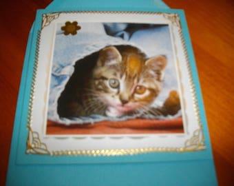 "Map theme: Cat ""Kitty is hiding"" - custom"