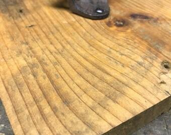 Beer Bottle Opener fastened to Repurposed Pine
