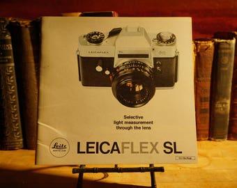 Leica Leicaflex SL Brochure