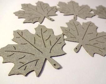 cuts 6 leaves maple - home decor, embellishment, scrapbooking