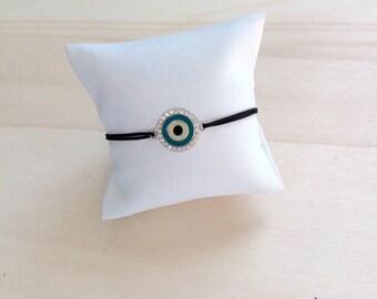 Eye in 925 silver bracelet