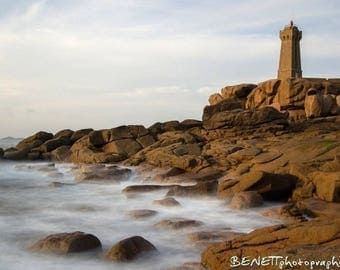 10 postcards from Brittany: Ploumanac'h lighthouse ':