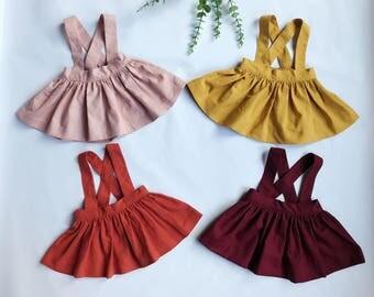 Sophie - School Girl Suspender Skirt