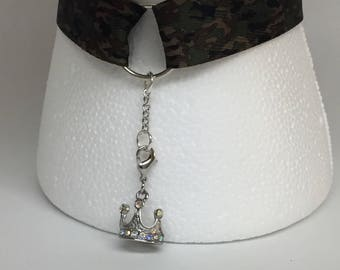Royal Camouflage Choker with Extender Chain (BDSM)