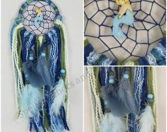 Blue Mermaid Dreamcatcher