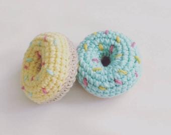 Set of 2 Mini Plush Donuts