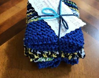 100%cotton dishcloth set