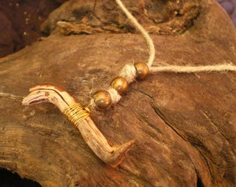 Branch pendant and bronze