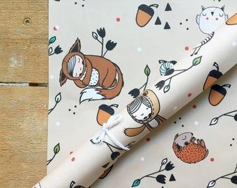 "Eco Gift paper ""Hazel"" 5 pieces A3"