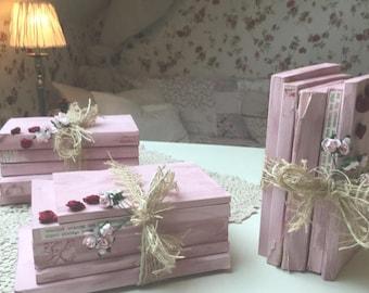 Romantic Small Book Stack (1)