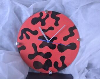 Custom hand painted clock