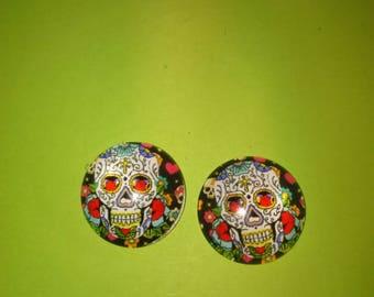 skull cameo skull glass model 6
