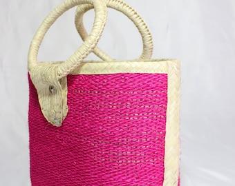 Handmade Straw purses