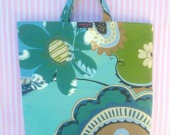 Handmade cotton/mix fabric carrier bag