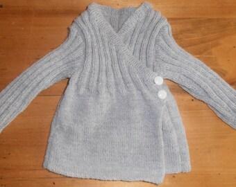 sweater jacket grey 6 months