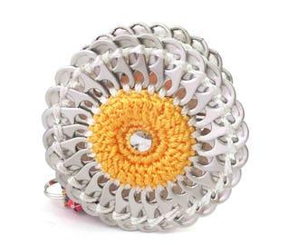 """Sun flower coin purse / Porte monnaie """"Tournesol"""""""