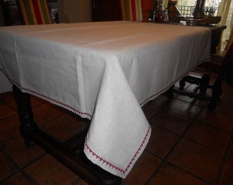 Tablecloth cotton linen