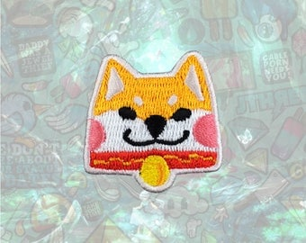 Akita dog Cute Dog Patch Cartoon Patch Iron on Patch Sew On Patches