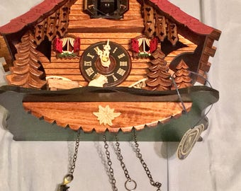 New Black Forest Musical Cuckoo Clock