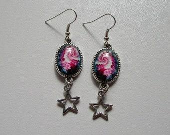 beautiful swirl earrings
