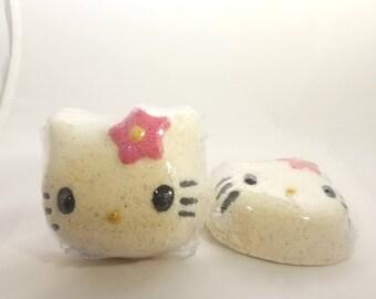 Hello Kitty Shaped Bath bombs