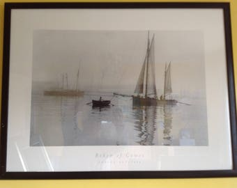 Beken of Cowes black and white print