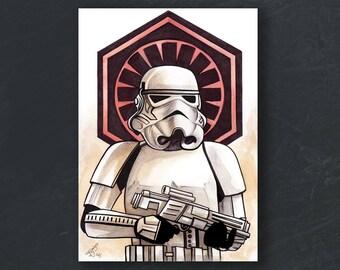A6 - Stormtrooper - Star Wars print