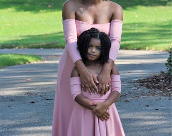 ADULT SIZE Mommy + Me Dress Matching Dresses