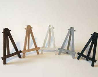 "5"" Mini Wooden Easel 