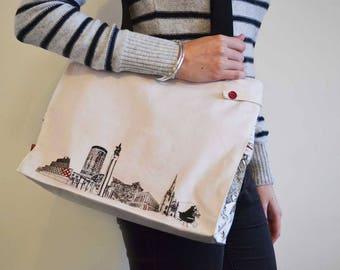 Shelanu: Birmingham Souvenir range – shoulder bag