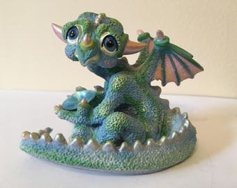 "Franklin Mint Mood Dragon - ""Gloomy"""