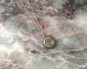 CC Designer Button Necklace