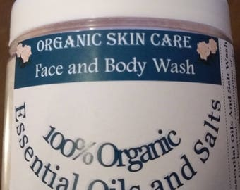 Organic Skin Care Face And Body Wash