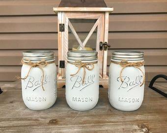 Custom Made Pint/Quart Sized Mason Jars